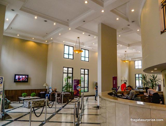 Recepção do Hotel Mercure Pinheiros, São Paulo