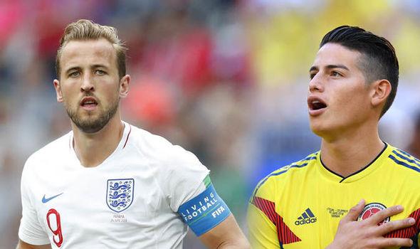 Prediksi Bola Kolombia vs Inggris Piala Dunia 2018