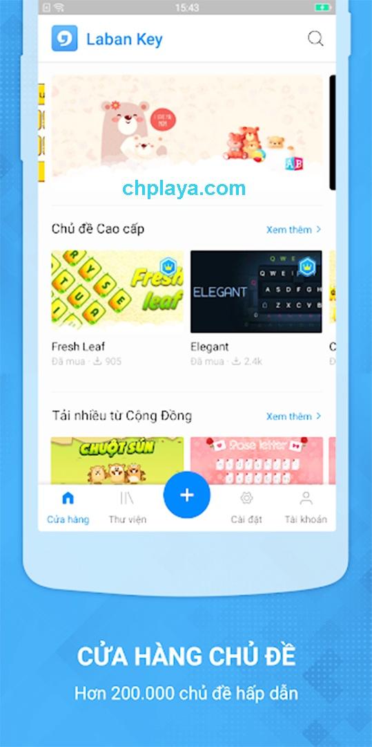 Tải Laban Key Apk bàn phím gõ tiếng Việt cho Android miễn phí d