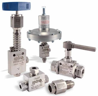 Specialty industrial control valves