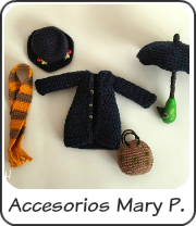 Accesorios Mary Poppins