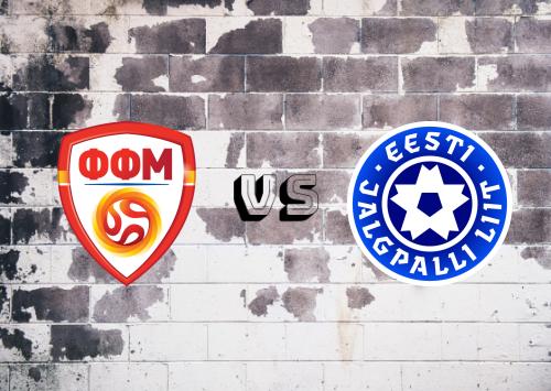ARY de Macedonia vs Estonia  Resumen
