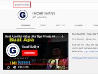 Kekalkan kebaikan dengan subscribe dan bagikan channel YouTube ini!