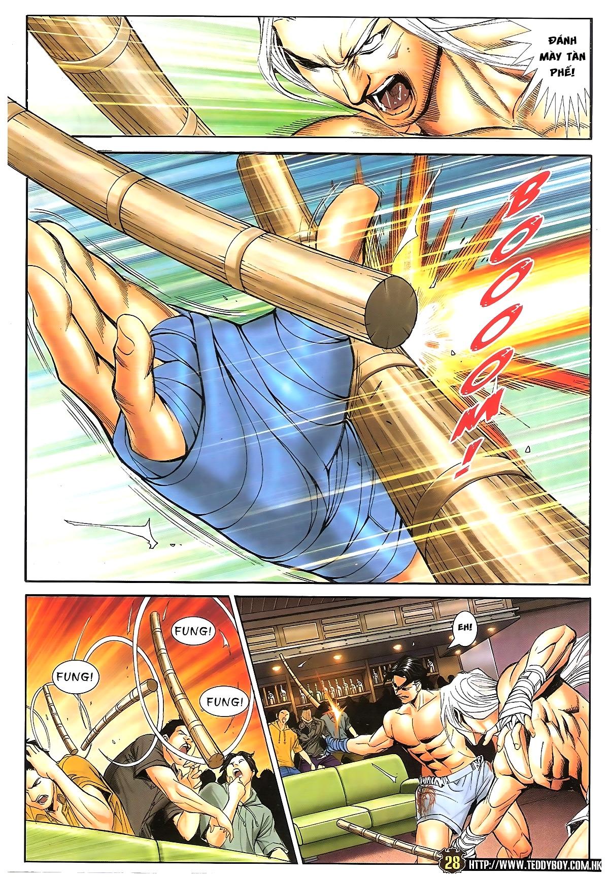 Người Trong Giang Hồ - Chapter 1633: Ác chiến La Tâm Tá 2 - Pic 24