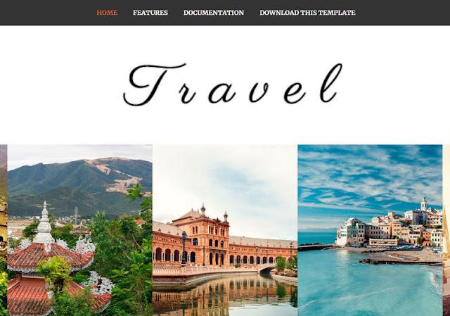 Om Travel Blogger Premium Version Template