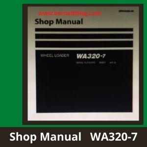WA320-7 shop manual wheel loader komatsu