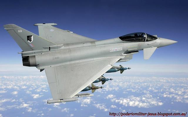 Eurofighter Typhoon  ( caza polivalente, bimotorde gran maniobrabilidad  Consorcio ) - Página 4 147512