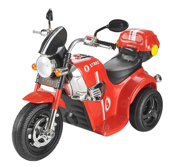 Rs,3639/- Toyhouse Samurai Strike 8 Rechargeable Battery Operated Ride on Bike for Kids (2 to 4 Years), Red