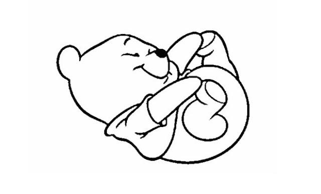 Winnie Pooh Bebe 3