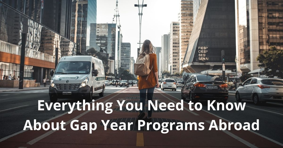 Know About Gap Year Programs