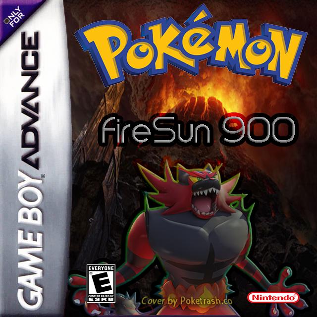 Pokemon FireSun 900 gba