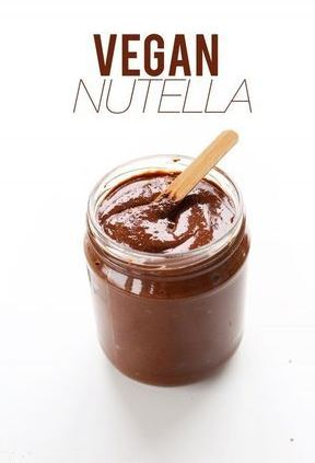 4-Ingredient Nutella (Vegan + GF)