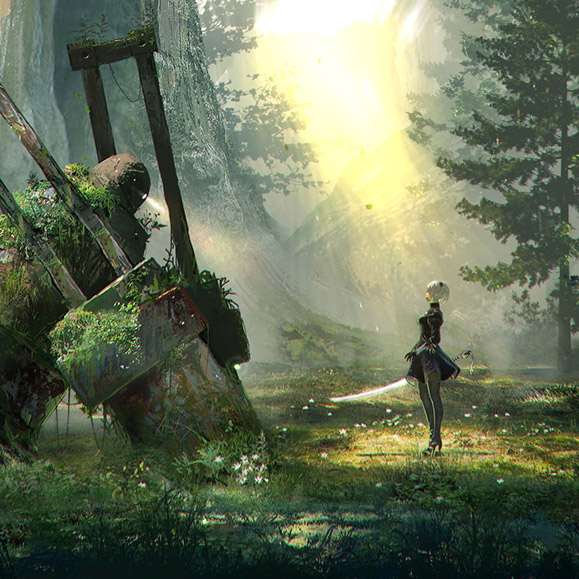 NieR Automata 9521 Wallpaper Engine