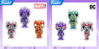 Marvel & DC Comics Pop! Candy Figures by Funko