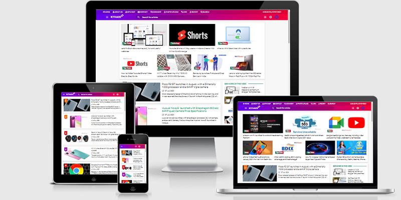 ICTHack Responsive Premium Professional Template for Blogspot Version 3.5