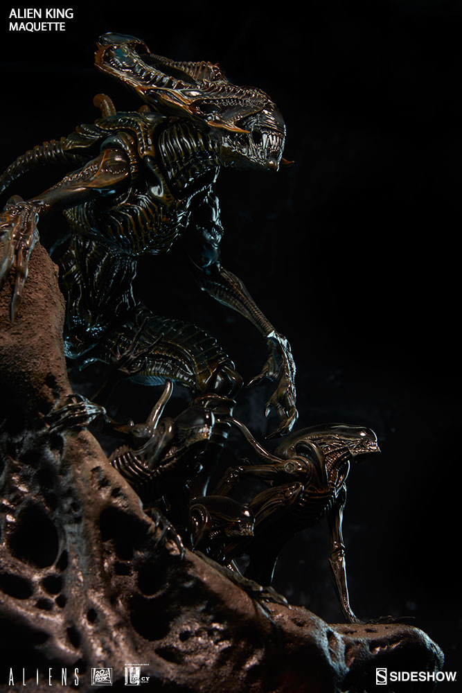 Aliens - 30 ans - Neca (et autres) - Page 2 Alien-King-Maquette-Sideshow-002