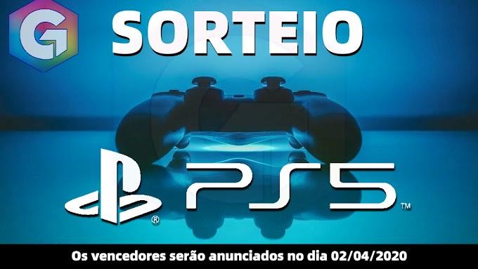 SORTEIO de Um Playstation 5!!