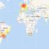 Reportan fallas en #WhatsApp en distintas partes del mundo y hay problemas de Internet a nivel global