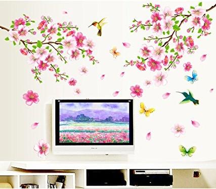 Flowers-Branch-Wall-Sticker