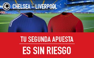 sportium Chelsea vs Liverpool segunda apuesta sin riesgo 16 septiembre