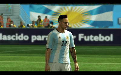PES 2013 South America & Copa America Tattoo Pack 2019 by Sevak