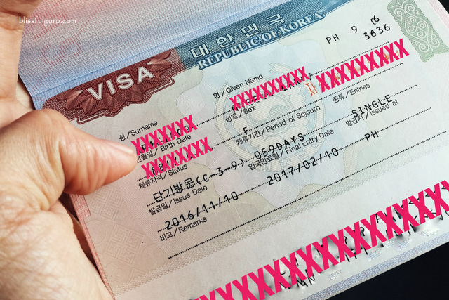 Blissfulguro How To Apply Korean Tourist Visa In The Philippines Updated