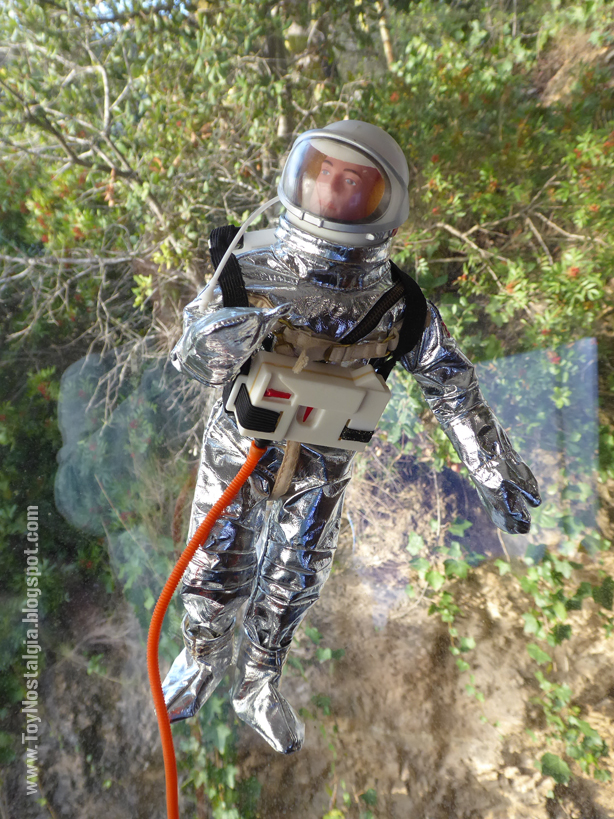 ACTIONMAN Astronaut with suction cups (ACTION MAN ASTRONAUT  HASBRO-PALITOY)