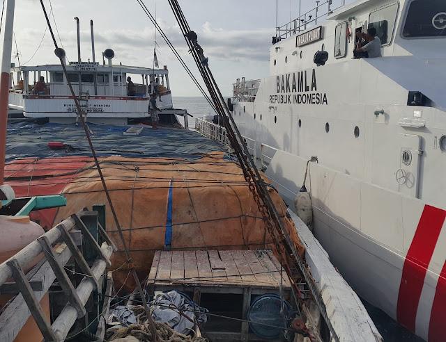 Jaga Keamanan Perairan Wilayah Zona Tengah, Bakamla RI Tingkatkan Operasi Patroli Laut