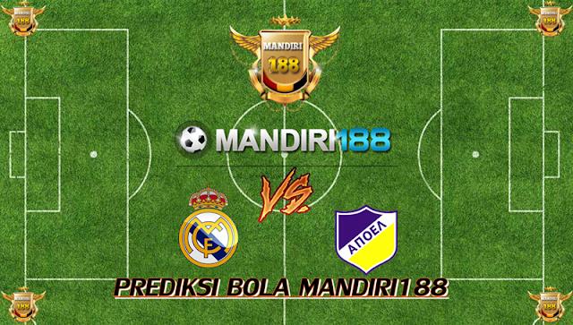AGEN BOLA - Prediksi Real Madrid vs APOEL Nicosia 14 September 2017