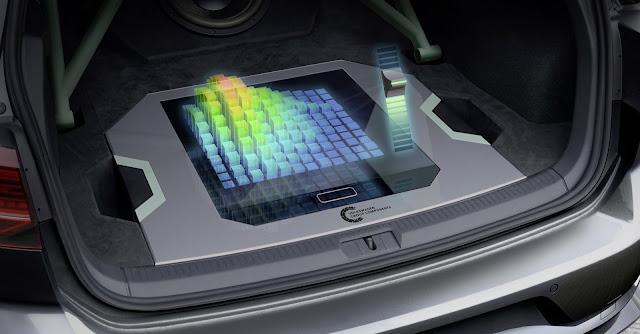 VW Golf GTI Aurora - controle holográfico