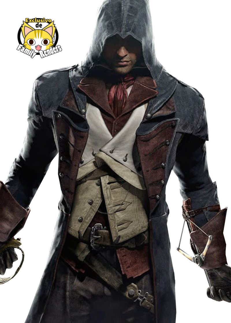 PNG-Assassin's Creed Unity//Arno Dorian