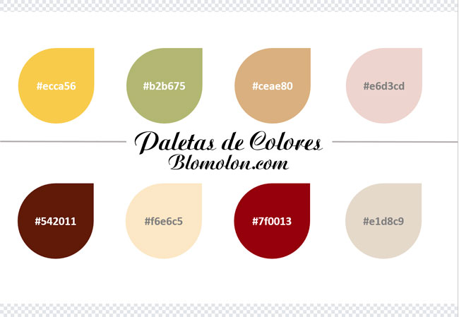 paletas de colores diez
