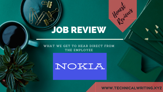 My Job Review  Technical Writing  Nokia