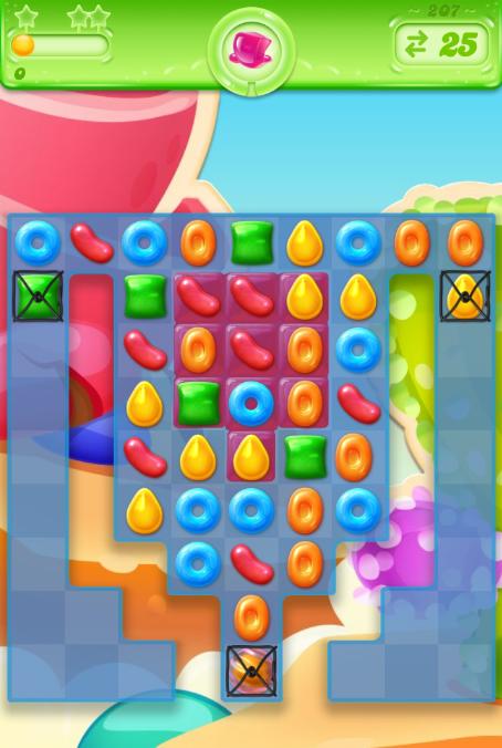 Candy Crush Jelly Saga 207