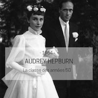 robe de mariée Audrey Hepburn