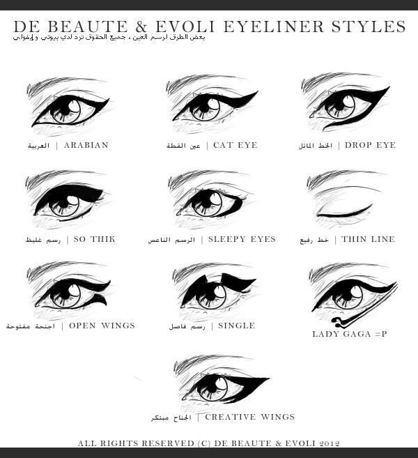 Glam Fiend Eyeliner Styles