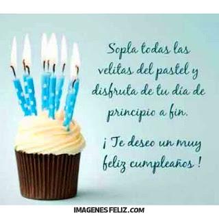 Imágenes de feliz cumpleaños para hombre gratis. Tarjetas con mensajes y frases bonitas para descargar. Fotos de pastel con velas. Cupcake
