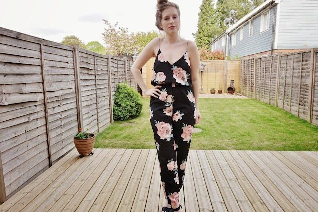 floral jumpsuit going out