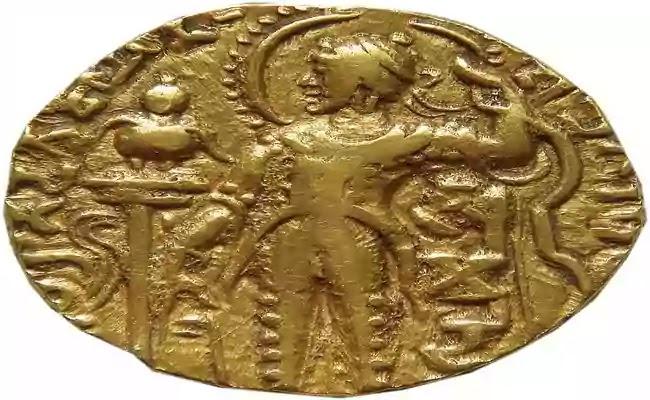 গুপ্ত বংশের শ্রেষ্ট রাজা সমুদ্রগুপ্তের মুদ্রা
