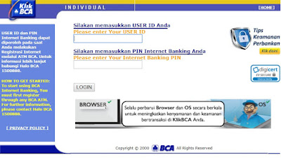 Cara Daftar Internet Banking BCA Dengan HP