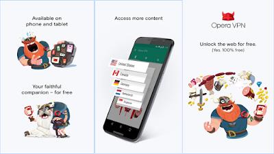 تطبيق-Opera-Free-VPN