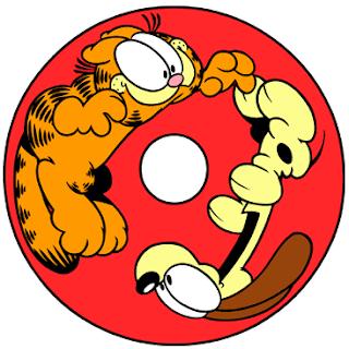 Divertido Abecedario de Garfield. Garfield Abc.