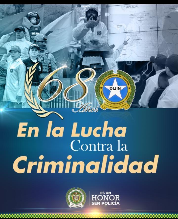 hoyennoticia.com, DIJIN: 68 años de investigación criminal en Colombia