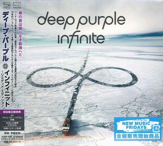 DEEP PURPLE - InFinite [Japan Ltd. Edition SHM-CD + CD] + iTunes bonus (2017) full