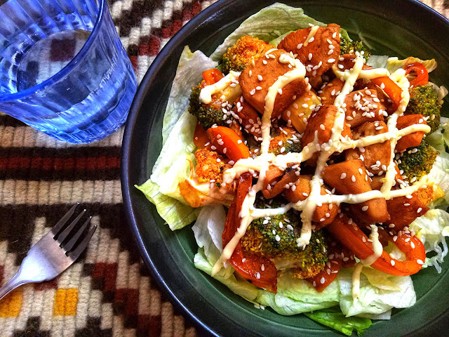 Sweet Thai Chili Chicken Salad Recipe, salad recipes, healthy food, asian food, clean eating, fitness, top pakistani Blog, top food blog, top pakistani food blog, pakistani blogger, lifestyle blog of pakistan