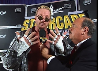 WCW Starrcade 1999 - Mean Gene Okerlund interviews Diamond Dallas Pae