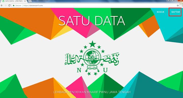 https://datamaarif.com/ Alamat Aplikasi SIMNU LP Ma'arif
