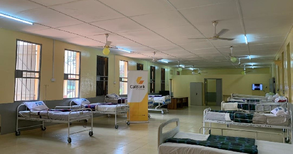 The newly renovated male ward at the Accra Psychiatric Hospital