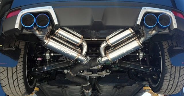 loud exhaust tips