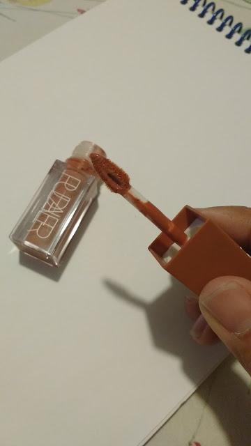 Resenha Batom líquido Matte Pudaier aplicador